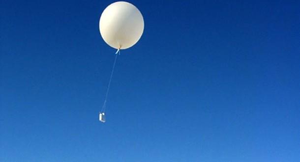 Obyčejně neobyčejný balon – meteorologický balon.